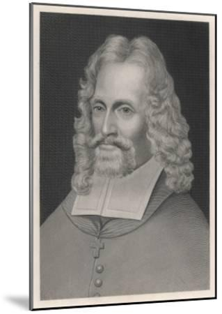 Oliver Plunkett--Mounted Giclee Print