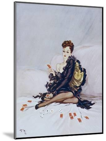 Patience-David Wright-Mounted Giclee Print