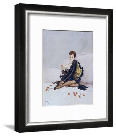 Patience-David Wright-Framed Giclee Print