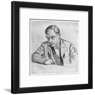 Octave Mirbeau--Framed Giclee Print