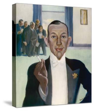 Noel Coward (1899-1973)--Stretched Canvas Print