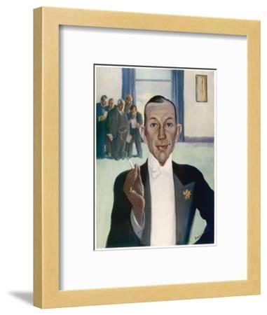 Noel Coward (1899-1973)--Framed Giclee Print