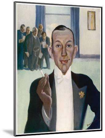 Noel Coward (1899-1973)--Mounted Giclee Print