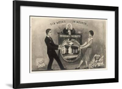Six Weeks in Nevada - the Cure!--Framed Giclee Print