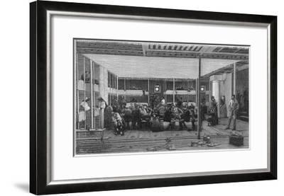 Steerage Passengers on Board an Atlantic Liner--Framed Giclee Print