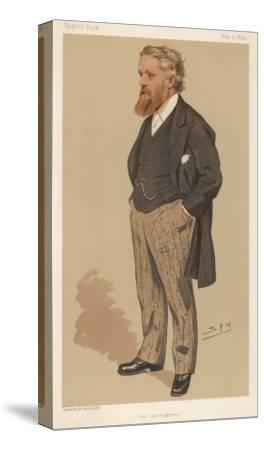 Sir George Newnes English Publisher and Liberal Mp--Stretched Canvas Print