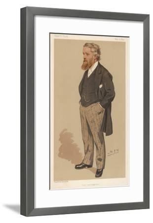 Sir George Newnes English Publisher and Liberal Mp--Framed Giclee Print