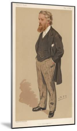 Sir George Newnes English Publisher and Liberal Mp--Mounted Giclee Print