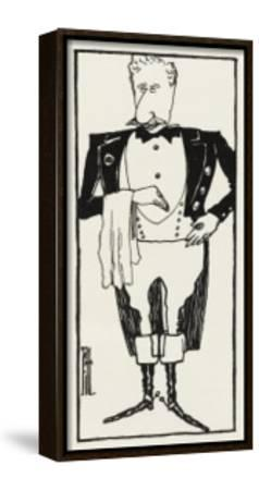 Sir Joseph Lyons Caterer--Framed Stretched Canvas Print