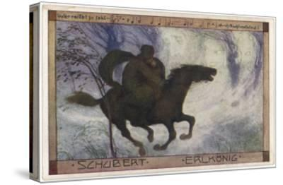 Schubert's 'Erlkonig' (Goethe)--Stretched Canvas Print