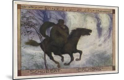 Schubert's 'Erlkonig' (Goethe)--Mounted Giclee Print