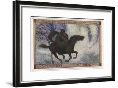 Schubert's 'Erlkonig' (Goethe)--Framed Giclee Print