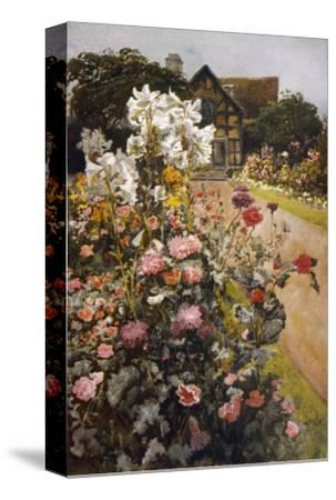 Shakespeare's Garden--Stretched Canvas Print