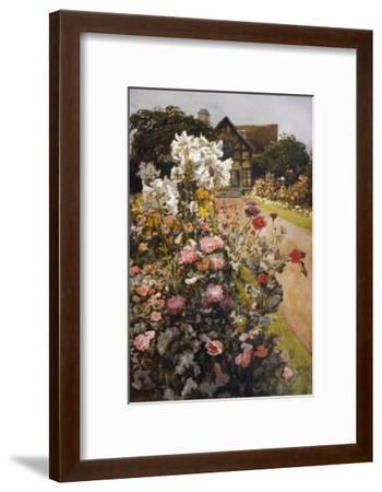 Shakespeare's Garden--Framed Giclee Print