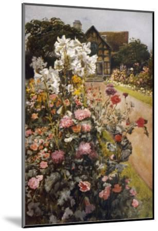 Shakespeare's Garden--Mounted Giclee Print