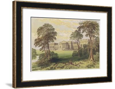 Stowe, Buckinghamshire--Framed Giclee Print
