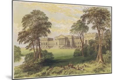 Stowe, Buckinghamshire--Mounted Giclee Print