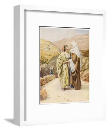Ruth and Naomi--Framed Giclee Print