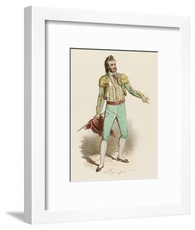 Spanish Toreador--Framed Giclee Print