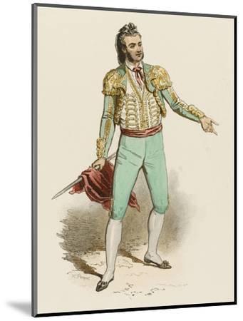Spanish Toreador--Mounted Giclee Print