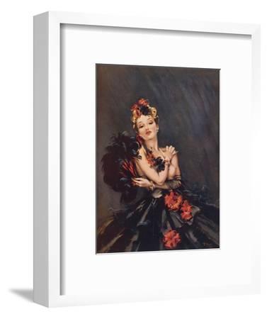 Spitfire-David Wright-Framed Giclee Print
