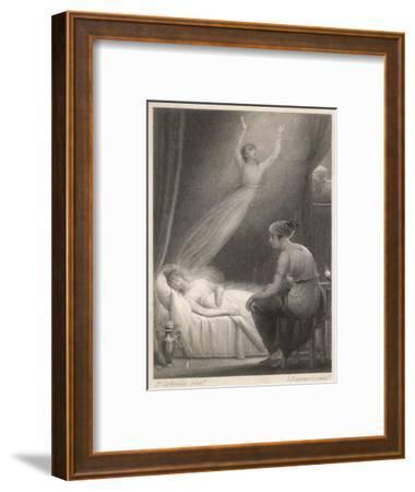 Soul Leaving Body--Framed Giclee Print
