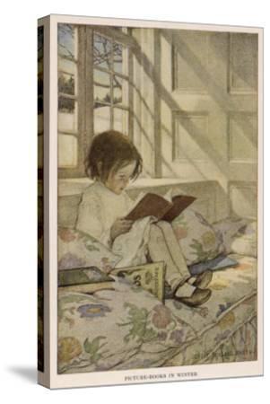 Stevenson Poems--Stretched Canvas Print