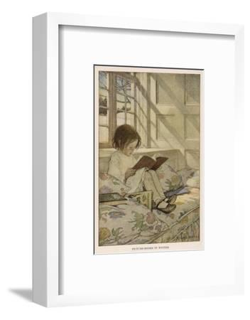 Stevenson Poems--Framed Giclee Print