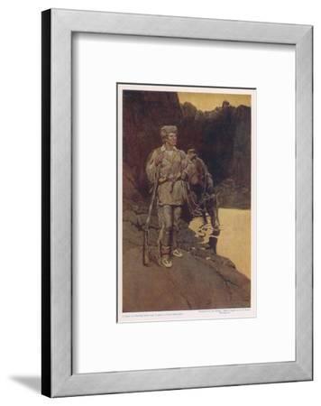 Jim Bridger--Framed Giclee Print