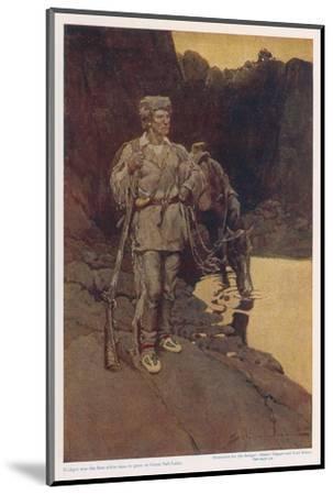 Jim Bridger--Mounted Giclee Print