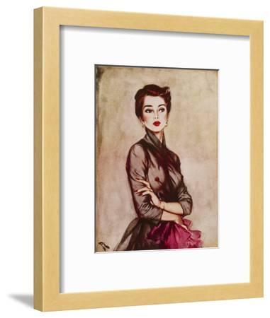 September, 1953-David Wright-Framed Giclee Print