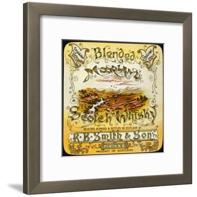 Smith's Moorland Blended Whiskey--Framed Giclee Print