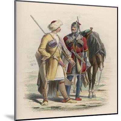 Russia - Two Circassian Soldiers--Mounted Giclee Print