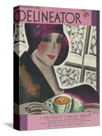 The Delineator November 1929--Stretched Canvas Print