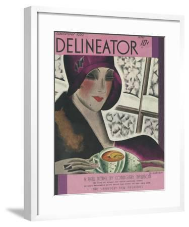 The Delineator November 1929--Framed Giclee Print