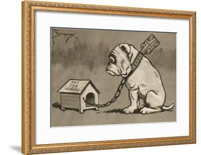 The Housing Problem by Fred Buchanan--Framed Giclee Print