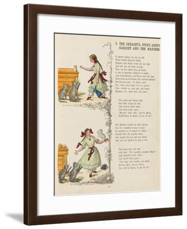 The Dreadful Story About Harriet and the Matches--Framed Giclee Print