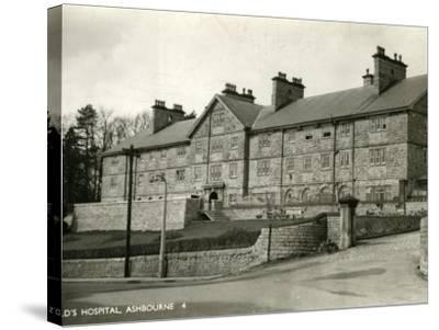 St Oswald's Hospital, Ashbourne, Derbyshire-Peter Higginbotham-Stretched Canvas Print
