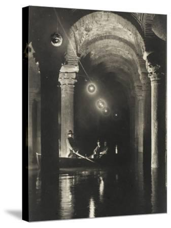 The Istanbul Underground Cistern--Stretched Canvas Print