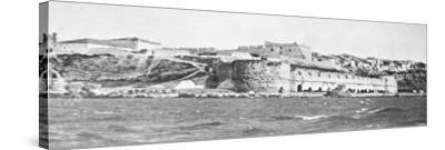 The Sedd El Bahr Forterss at the Entry to the Dardanelles During World War I-Robert Hunt-Stretched Canvas Print