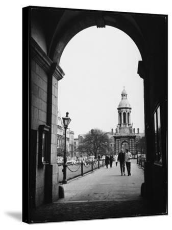 Trinity College Dublin--Stretched Canvas Print
