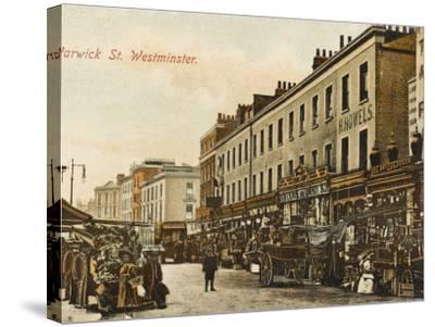 Warwick Way, Pimlico, London--Stretched Canvas Print