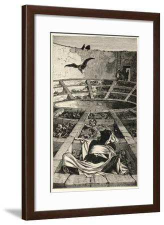 Tower of Silence--Framed Giclee Print