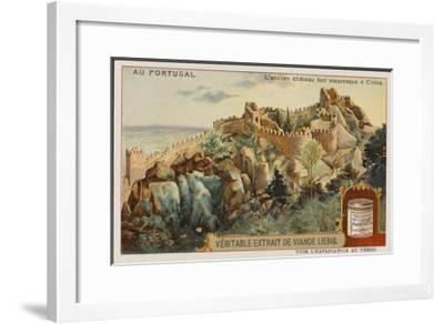 The Picturesque Ancient Moorish Castle--Framed Giclee Print