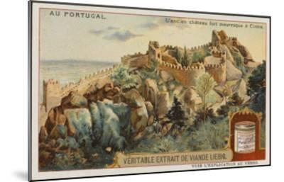 The Picturesque Ancient Moorish Castle--Mounted Giclee Print