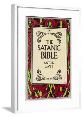 The Satanic Bible--Framed Giclee Print