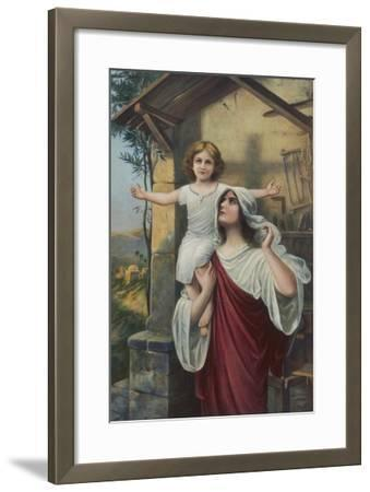 The Shadow of the Cross--Framed Giclee Print