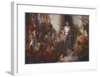 Trial of William Wallace--Framed Giclee Print