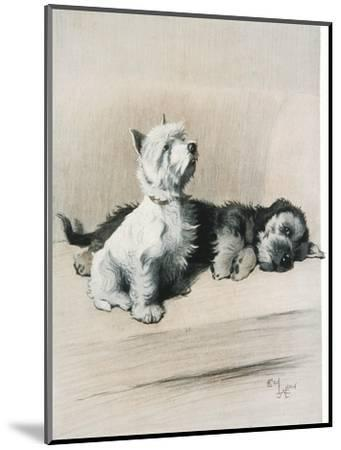 The Two Friends--Mounted Giclee Print