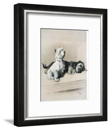 The Two Friends--Framed Giclee Print